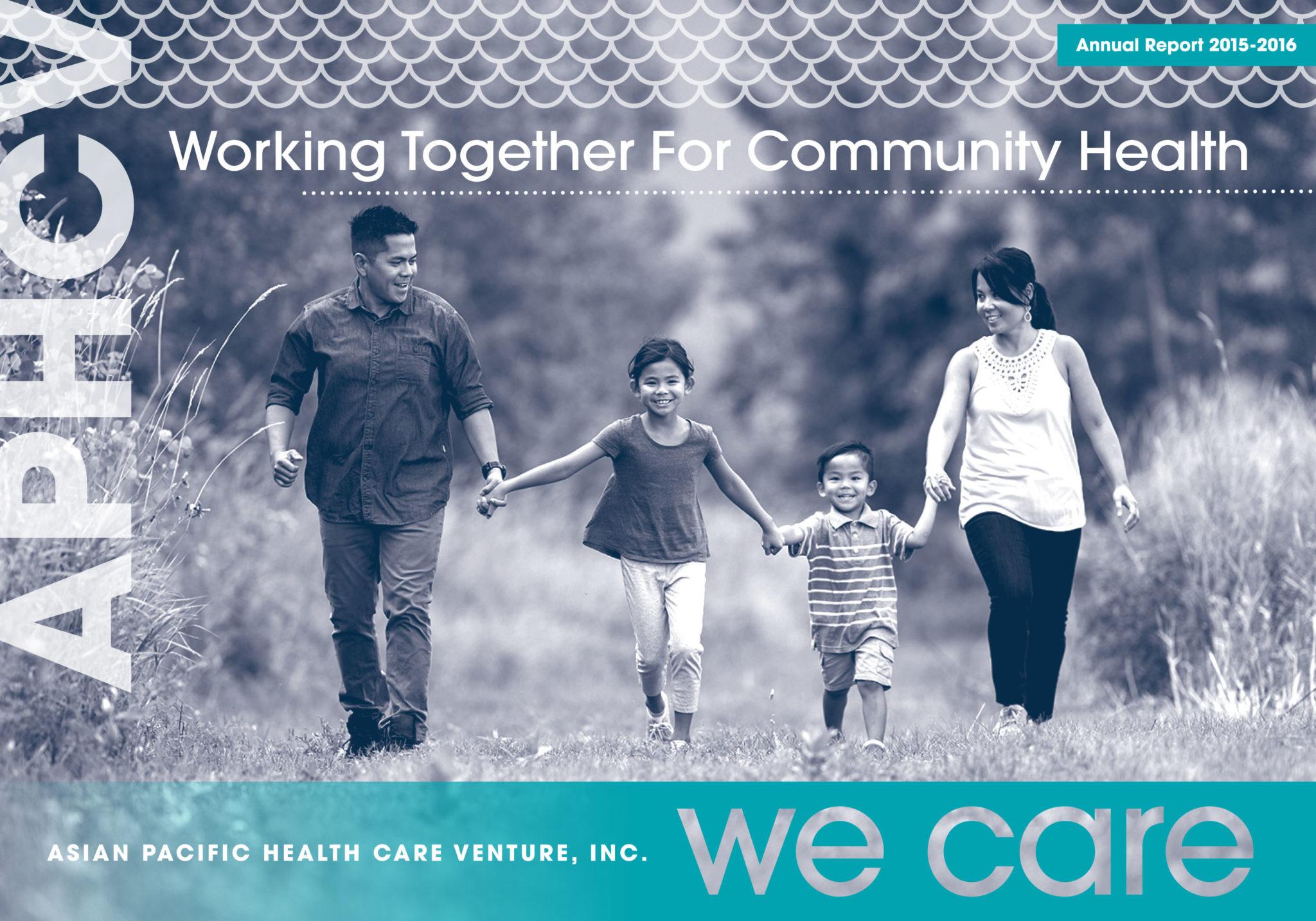 APHCV Annual Report Page 1