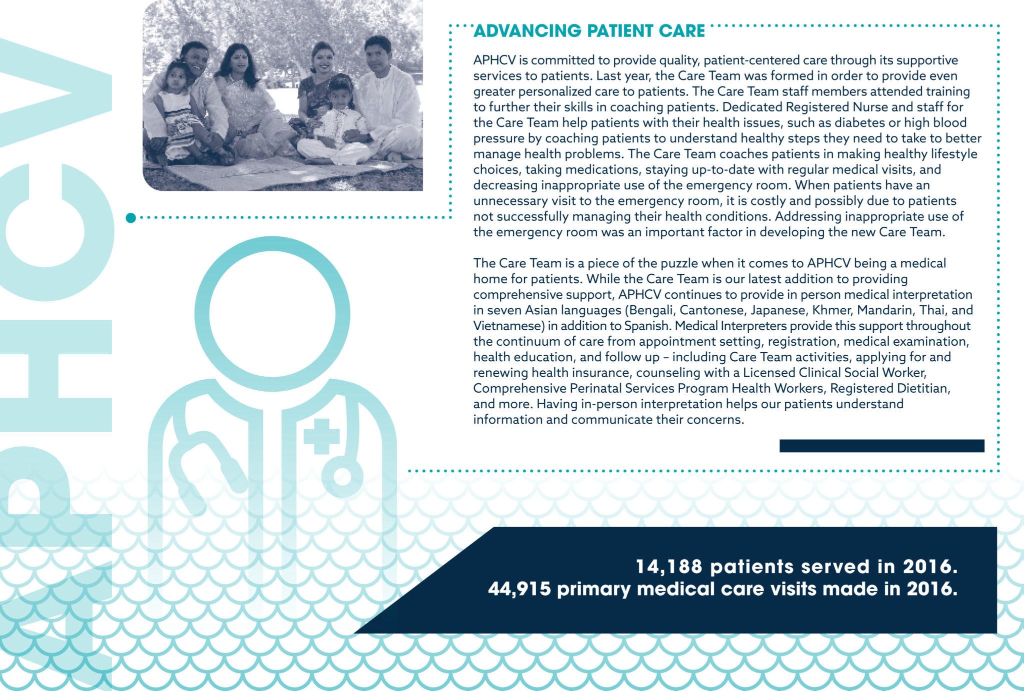 APHCV Annual Report Page 6